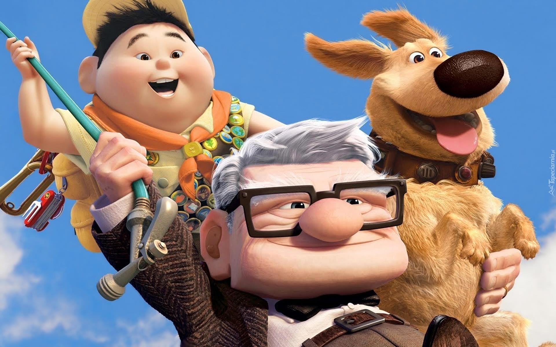 I protagonisti del film Up!