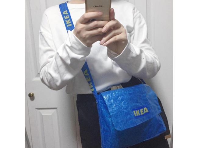 IKEA FRAKTA trasformata in borsetta