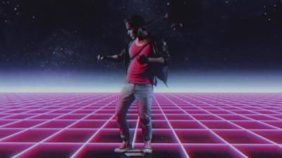 Kung Fury viaggia nel tempo nel corto di LaserUnicorns