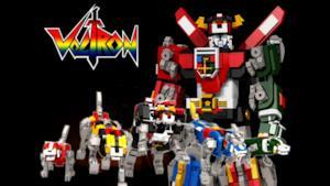 I classici Voltron in versione LEGO