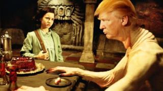 Trump impersona un mostro
