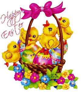 Una gif di auguri di Buona Pasqua - Immagini per auguri di Buona Pasqua