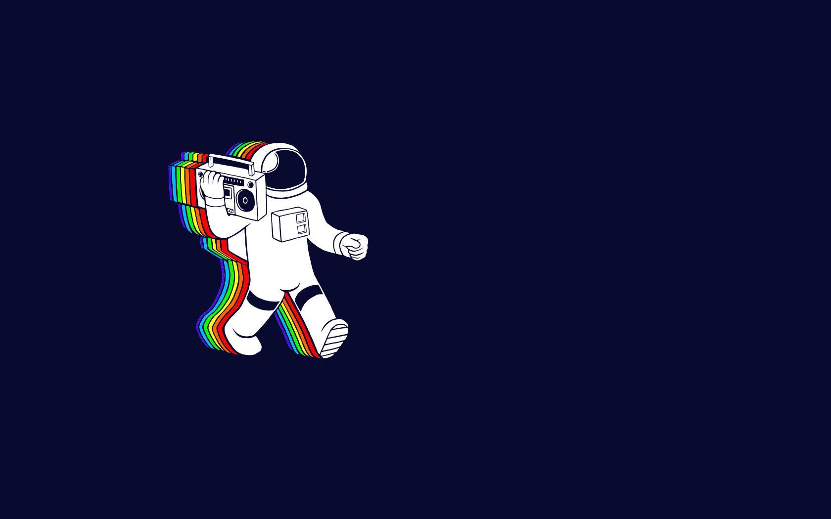 L'astronauta ballerino - Sfondi per PC, iPhone, Android e profilo WhatsApp da scaricare