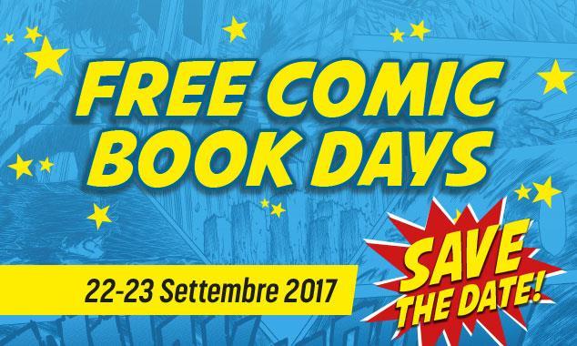 L'iniziativa Free Comic Book Days in Italia