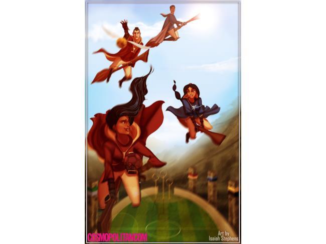 I personaggi Disney giocano a Quidditch