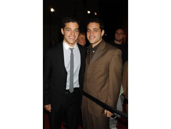 Rami Malek e suo fratello