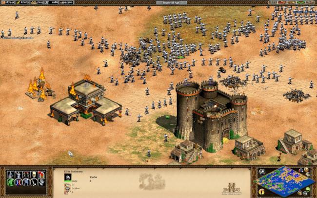 Uno screenshot della versione HDWilliam Wallace: la campagna è il tutorial del gioco, infatti i gioc
