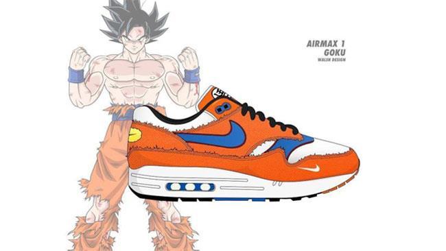 Le scarpe Nike di Goku
