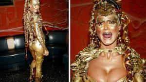 Heidi in versione aliena dorata