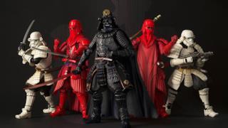Ecco i favolosi modellini di Star Wars con Darth Vader nel Giappone Feudale