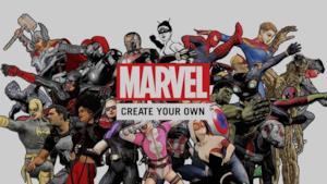 Il logo dell'app Marvel