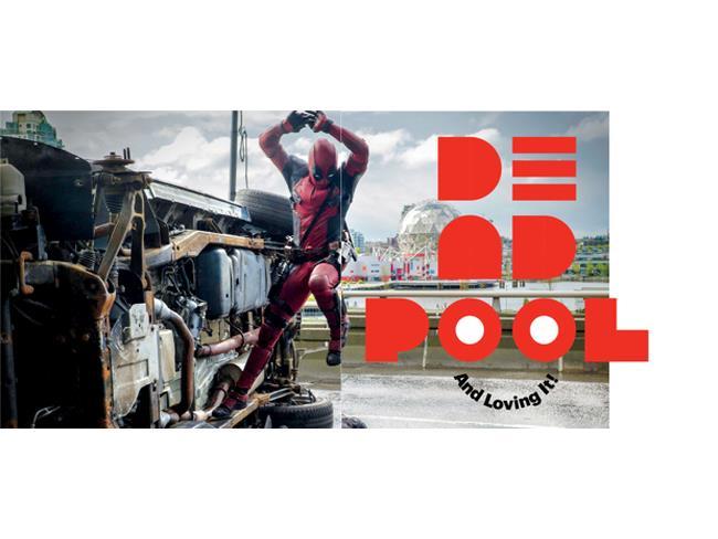 Deadpool nelle pagine di EW