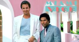 I due protagonisti di Miami Vice.