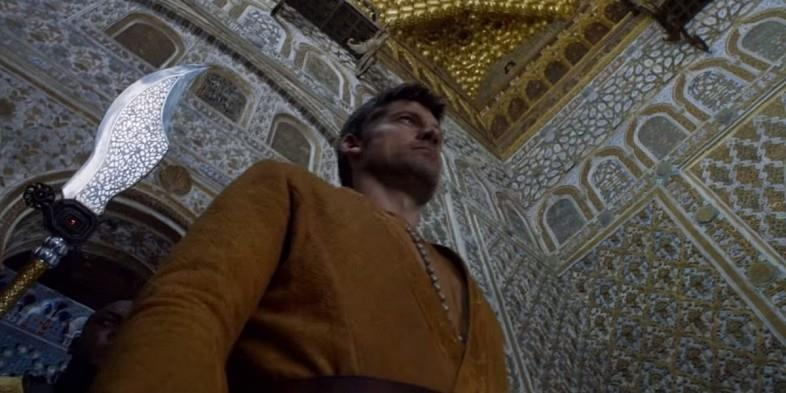Jaime Lannister nell'episodio 9 di Game of Thrones