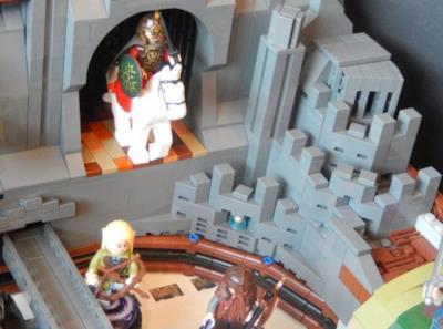 Altri eroi de Il Signore degli Anelli in forma di LEGO nel flipper