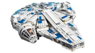 Il nuovo set di LEGO dedicato al Millennium Falcon presente in Han Solo: A Star Wars Story
