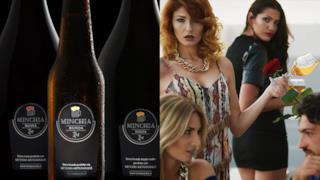 La pubblicità della Birra Minchia