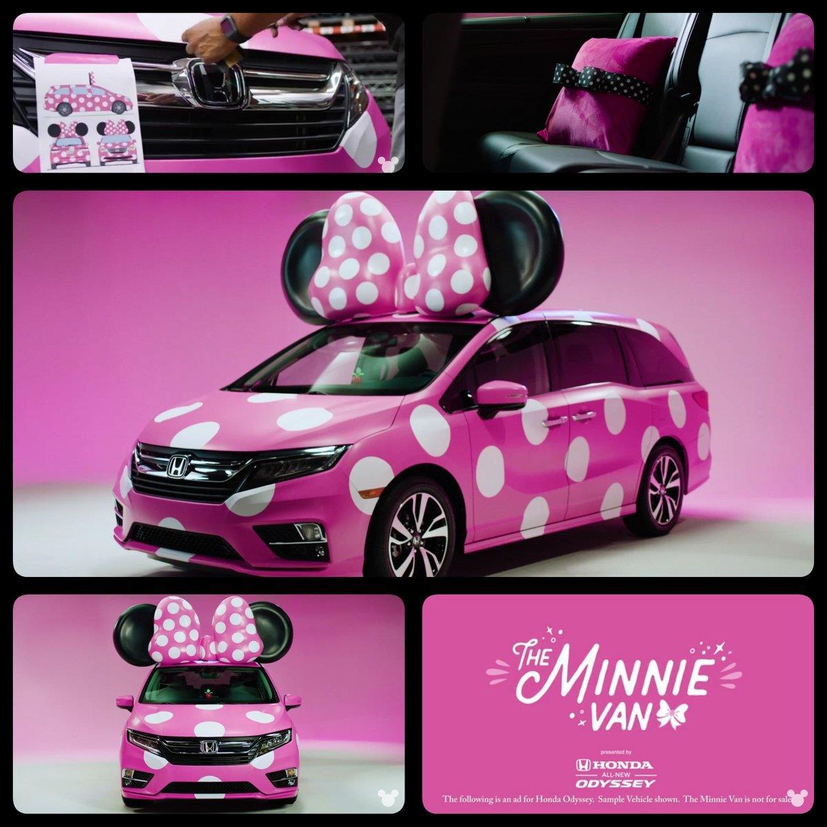 La Minnie Van analizzata da più puntidi vista