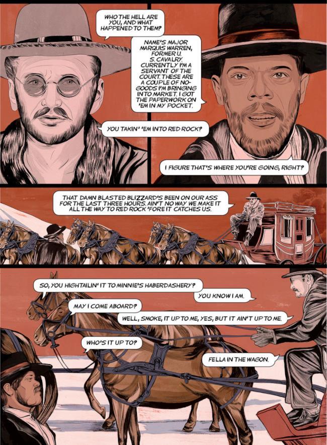 The Hateful Eight arriva con un webcomic
