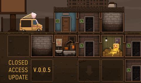 Una schermata del videogioco Basement