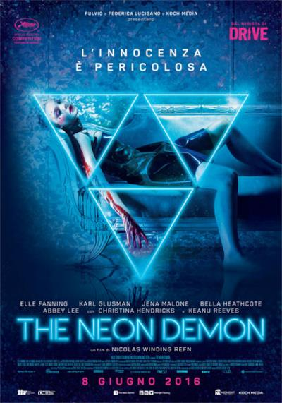 La locandina di The Neon Demon
