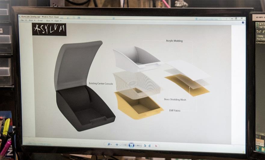 Il concept alla base della gabbia di Faraday creata da Nissan