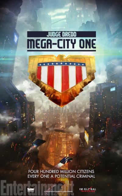 L'ambientazione futuristica della nuova serie TV su Judge Dredd