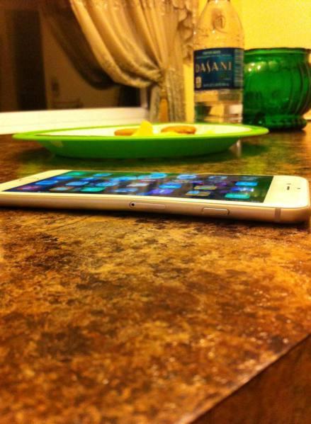iPhone 6 piegato