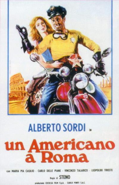 La locandina de Un americano a Roma