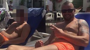 Gareth si gode il soggiorno a Ibiza