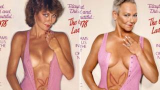 Le conigliette di Playboy ricreano le loro cover, trent'anni dopo