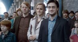 il Trio di Harry Potter nell'Epilogo della saga
