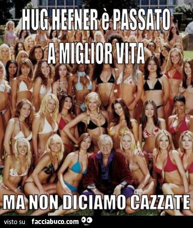 Hugh Hefner, i migliori meme da condividere su WhatsApp