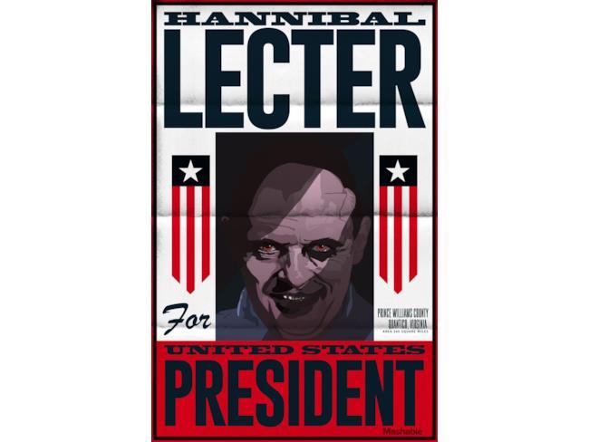 Hannibal Lecter tra i protagonisti horror candidati alle elezioni