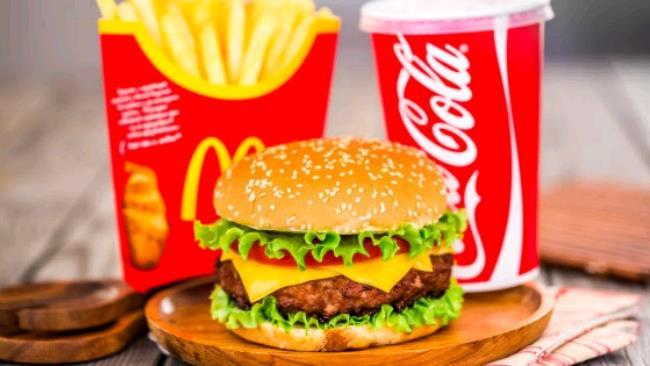 La foto del classico menù McDonald's
