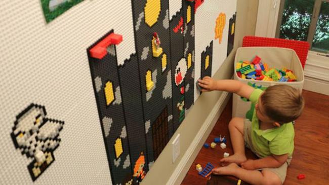 Un nuovo tipo di costruzioni LEGO da usare sui muri di casa.