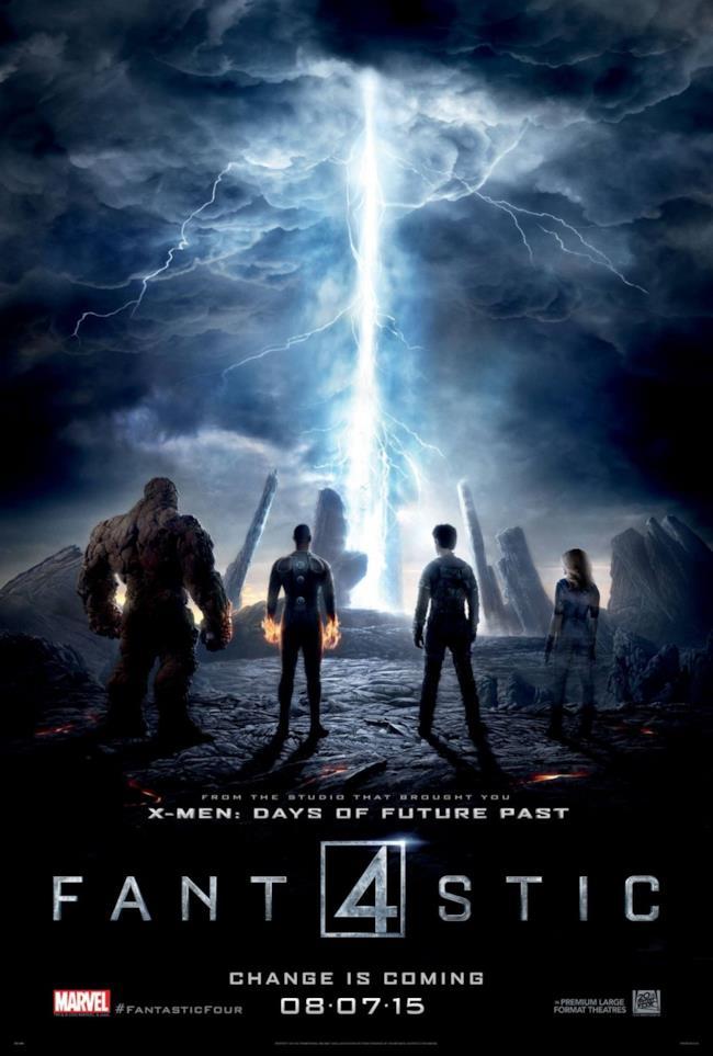 Il poster internazionale del reboot di Fantastici 4