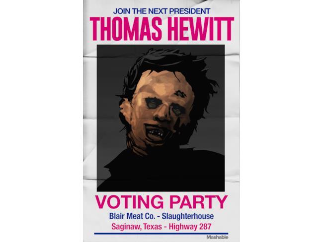 Thomas Hewitt tra i protagonisti horror candidati alle elezioni