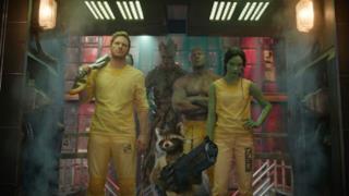 I Guardiani della Galassia al completo