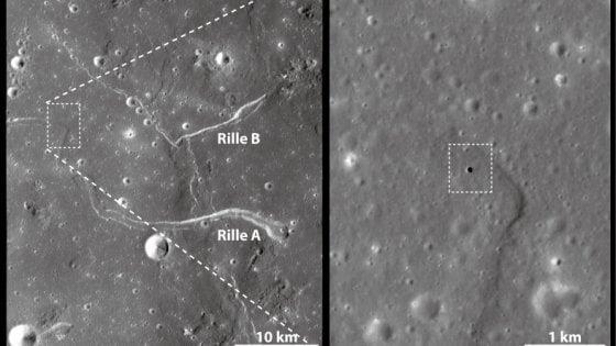 Le coordinate della caverna lunare