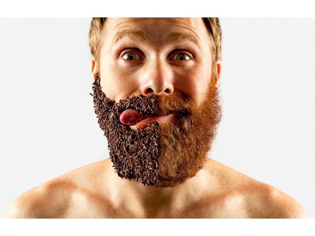 Barba di cioccolato