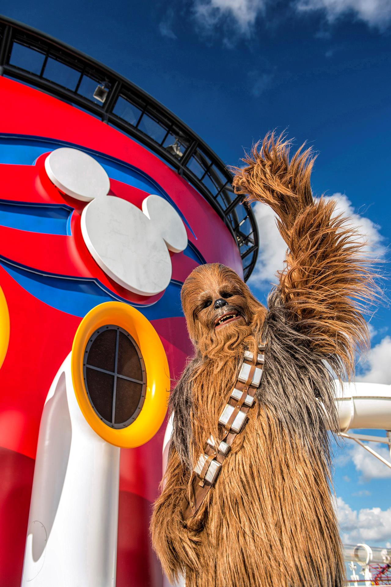 Chewbacca per le crociere a tema Star Wars