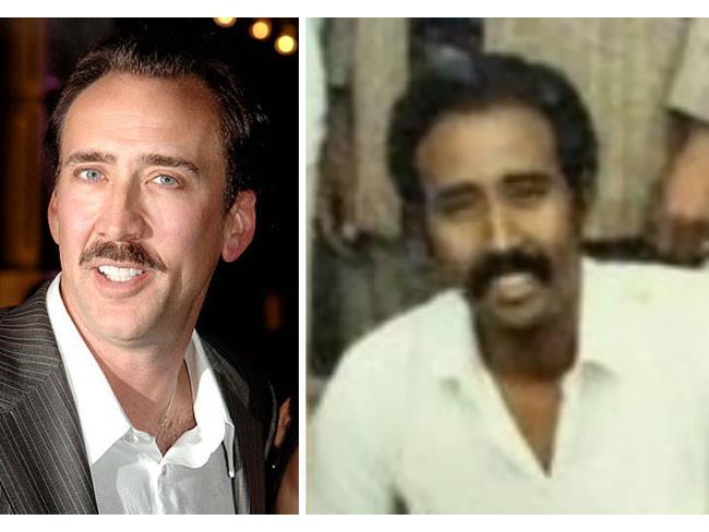 Sosia indiano di Nicolas Cage