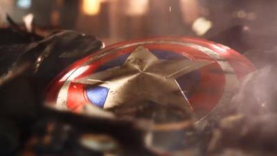 Lo scudo di uno degli Avengers