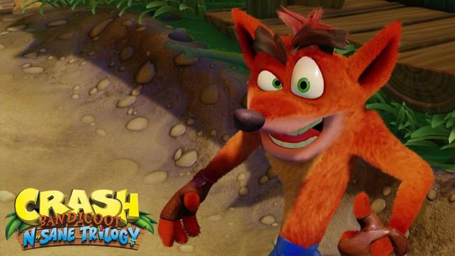 Crash Bandicoot ricreato con una grafica moderna