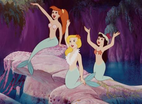 Le sirene di Peter Pan, in cui spicca una in particolare dai capelli rossi...