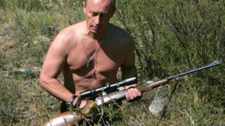 Putin a caccia