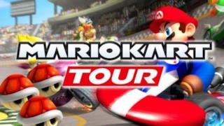 Il logo di Mario Kart Tour