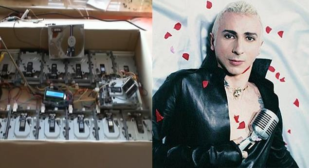 Marco Almond e 14 floppy disk