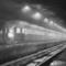 Il treno fantasma alla stazione